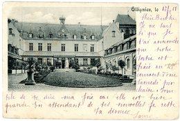 Ollignies (Lessines). Pensionnat Des Soeurs Bernardines. Circulé En 1901. Woelingen (Lessen). Pensionaat Zusters. - Lessen