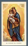 °°° Santino - Ss. Vergine Del Rosario °°° - Religion & Esotérisme