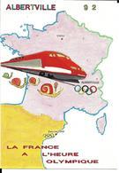 JEUX OLYMPIQUES HIVER - OLYMPICS WINTER GAMES ALBERTVILLE 1992 - PIER FRANC - - Jeux Olympiques