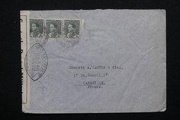 IRAQ - Enveloppe Pour La France Avec Contrôle Postal Militaire - L 21690 - Iraq