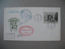 TAAF Lettre   Port Aux Français Iles Kerguelen    N° 59  Du 7/1/1981  Contrôle De La Pêche - French Southern And Antarctic Territories (TAAF)