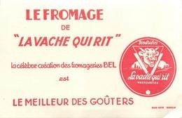 Buvard Ancien LA VACHE QUI RIT- FROMAGERIE BEL - Produits Laitiers