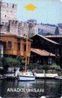 TURKEY_ALC : BC-01 30 ANADUOLUHISARI 1st Issue LIGHT Brown Mag.strip USED - Turkey