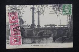 HONGRIE - Taxes Sur Carte Postale De France En 1929 Et Retour à L 'envoyeur - L 21692 - Marcophilie