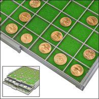 SAFE 6133 Filzeinlage Grün Für 6103 Schublade BEBA Maxi - Materiale