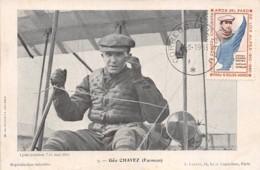 Pérou - Ethnic / 74 - Aviateur Géo Chavez Sur Farman  - Belle Oblitération - Perù