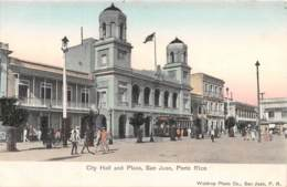 Puerto Rico / 09 - San Juan - City Hall And Plaza - Puerto Rico