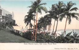 Puerto Rico / 10 - San Juan - Casa Blanca Lawn - Puerto Rico
