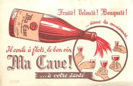 Buvard Ancien MA CAVE A VIN - Liqueur & Bière