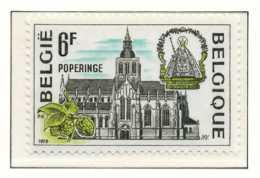 D - [151855]N° 1949, Tourisme, Cathédrale De Poperinge, SNC - Belgique