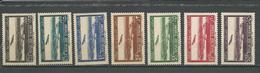 SYRIE Scott C89-C95 Yvert PA87-PA93 (7) *LH 8,00 $ 1940 - Syrie (1919-1945)