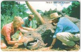 GERMANY O-Serie A-675 - 314B 09.93 - Cinema, Jurassic Park - MINT - Germany