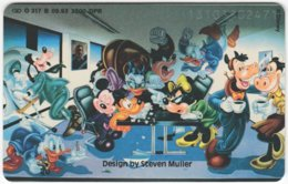GERMANY O-Serie A-676 - 317B 09.93 - Comics, Walt Disney, Mouse Family - MINT - Germany