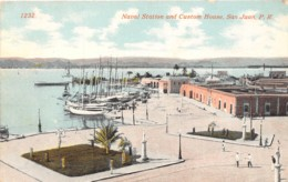 Puerto Rico / 28 - San Juan - Naval Station And Custom House - Puerto Rico