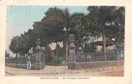 Salvador / 04 - Santa Ana - El Parque Guzman - El Salvador