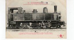 LES LOCOMOTIVES  (Etat) Machine Tender N°E325 - Trains