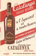 Buvard Ancien APERITIF CATALUNYA - VIN DOUX - Liqueur & Bière