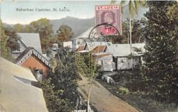 Sainte Lucie / 14 - Suburban Castries - Sainte-Lucie