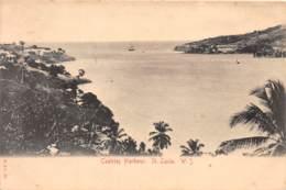 Sainte Lucie / 23 - Castries Harbour - Belle Oblitération - Sainte-Lucie