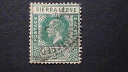 Sierra Leone - 1912 - Mi:SL 81, Sn:SL 103 O - Look Scan - Sierra Leone (...-1960)
