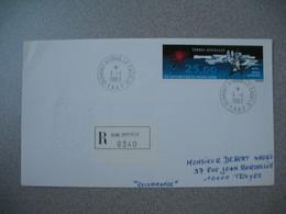 TAAF  Lettre  Dumont D'Urville - Terre Adélie   N° PA 78  Du 1/1/1983  Pour La France - French Southern And Antarctic Territories (TAAF)