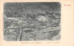 Surinam - Topo / 18 - Hydraulisair Op Een Goudplacet - Défaut - Surinam