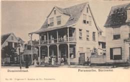 Surinam - Topo / 21 - Paramaribo - Dominéstraat - Surinam