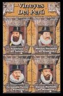Peru 2006 Mih. 2096/99 Viceroys Of Peru MNH ** - Peru