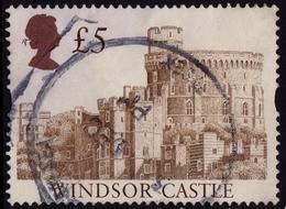 GB 1997 £5.00 Windsor Castle Sg#1996/Sc#1448a - USED @C148 - 1952-.... (Elizabeth II)