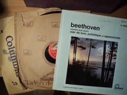 BEETHOVEN. LOT D 1 DOUBLE 33 TOURS / D UN 33 TOURS ET DE DEUX 78 TOURS. 1936 / ANNEES 60 SYMPHONIE N°6 EN FA MAJEUR OPU - Klassiekers