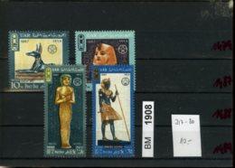 Ägypten, Xx, Konvolut Auf A6-Karte, 317-320 - Ungebraucht
