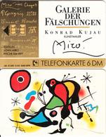 GERMANY(chip) - Galerie Der Fälschungen, Joan Miro/Fische Am Riff(O 292), Tirage 3000, 11/92, Mint - Germany
