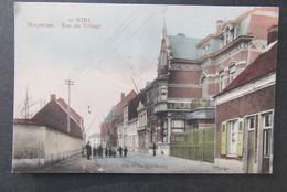 Cpa/pk Niel Dorpstraat IN KLEUR - Niel