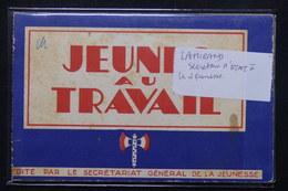 FRANCE - Carnet Des Jeunes Aux Travail - L 21702 - Weltkrieg 1939-45