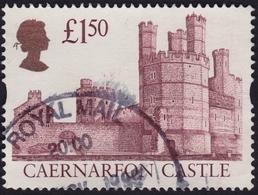GB 1997 £1.50 Caernarfon Castle Sg#1993/Sc#1446a - USED @C112 - 1952-.... (Elizabeth II)
