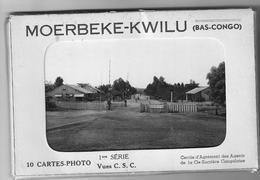 Moerbeke-Kwilu Cie Sucrière Congolaise 10 CP - Belgisch-Congo - Varia