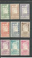 SYRIE Scott 288-292, C99-C102 Yvert 266-270, PA97-PA100 (9) * 32,00 $ 1943 - Syrie (1919-1945)
