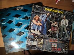 WHO. LOT D UN DOUBLE 33 TOURS ET D UN 33 TOURS. 1975 / 1978 WHO ARE YOU / TOMMY.  POLYDOR 2490 147 / 2668 013. NEW SONG - Disco, Pop
