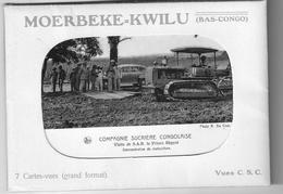 Moerbeke-Kwilu Cie Sucrière Congolaise 7 Vues - Congo Belge - Autres