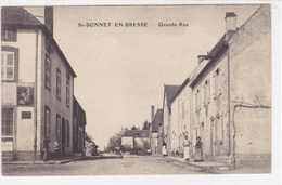Saône-et-Loire - St-Bonnet-en-Bresse - Grande-Rue - France