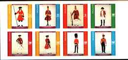 90494)  NAGALAND- UNIFORMI MILITARI NEI SECOLI- SOLDATI -MNH** SERIE NON DENTELLATA - Briefmarken