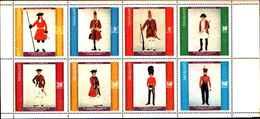 90495)  NAGALAND- UNIFORMI MILITARI NEI SECOLI- SOLDATI -MNH**  DENTELLATA - Briefmarken