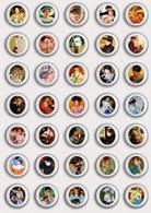 35 X Mary Cassatt Painting Fan ART BADGE BUTTON PIN SET 4 (1inch/25mm Diameter) - Badges