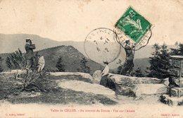/ Vallée De Celles  - Au Sommet Du Donon , Vue Sur L ' Alsace - France
