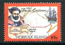 Norfolk Island 1994 Pacific Explorers - 85c Alvaro De Mendana MNH (SG 569) - Isola Norfolk