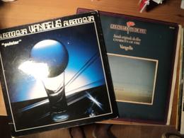 VANGELIS. LOT DE DEUX 33 TOURS. 1976 / 1981. LES CHARIOTS DE FEU / ALBEDO 0.39 POLYDOR 2383 602 / RCA RS 1080. TITLES / - Soundtracks, Film Music