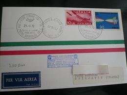 Dispaccio Aereo Supersonico F104 Istrana-Pratica Di Mare 21.9.73 Per Islanda Non Inoltrato - 6. 1946-.. Repubblica