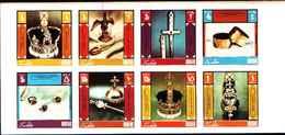 90497)  DHUFAR-OMAN-25° ANN.INCORONAZIONE DELA REGINA ELISABETTA II -MNH** SERIE NON DENTELLATA - Briefmarken