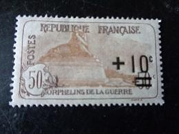 FRANCE  1922    N° 167   NEUF**    20% - Frankreich