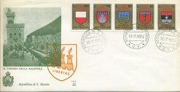 SAN MARINO - FDC ALA 1974 - TORNEO BALESTRA - FDC